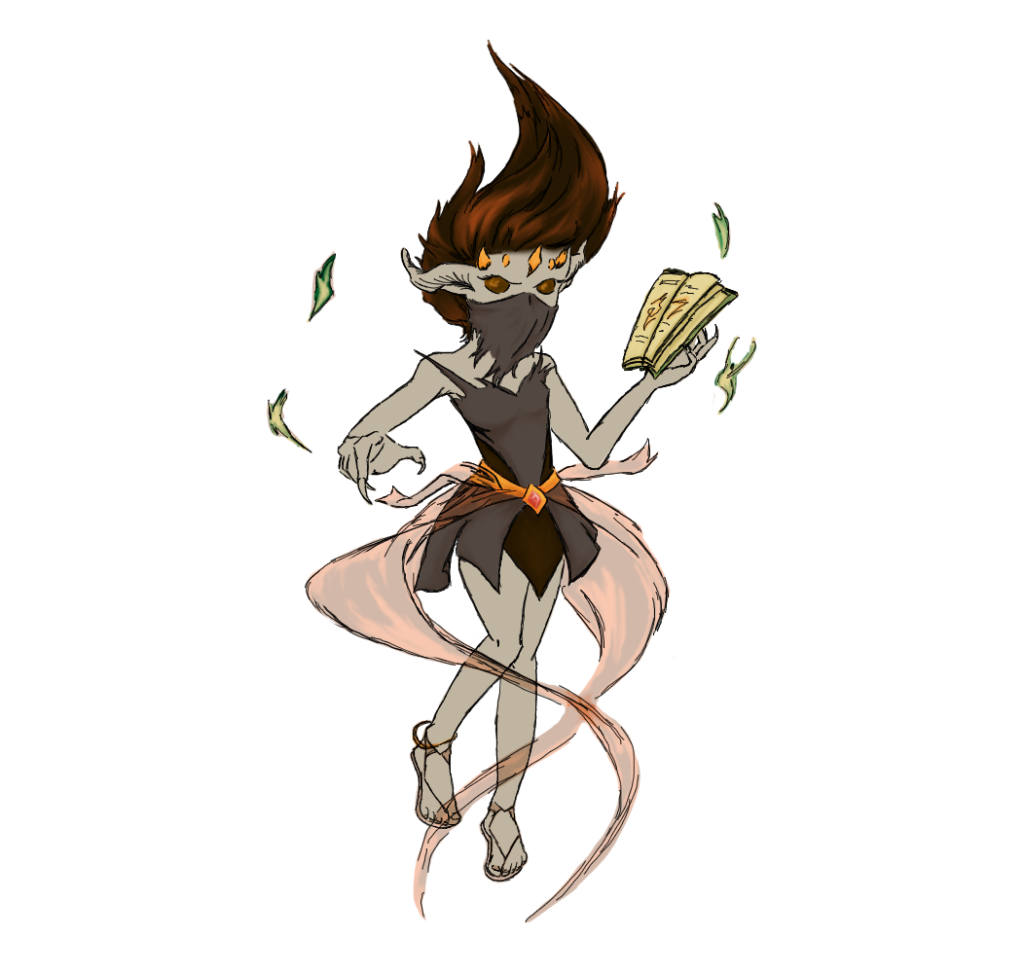 Enemy Witch Concept