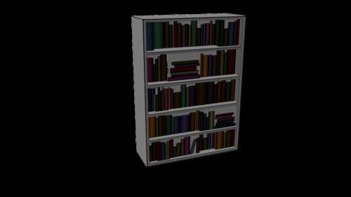 Bookshelf Texture