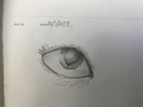 Quick Doodle: Eye