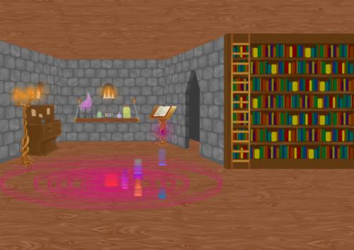 Merlin's Ancient Laboratory Concept