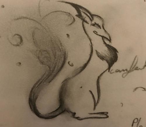 Quick Doodle: Creature