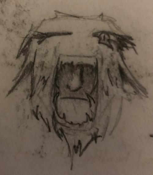 Quick Doodle: Beast
