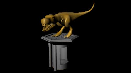 T-Rex Secret Lift Texture