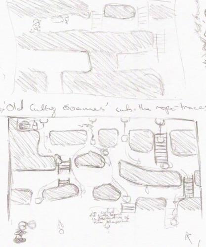 BlueCap Mine Level Design Concept #2