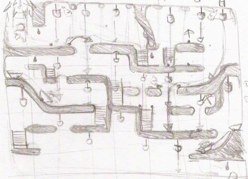 BlueCap Mine Level Design Concept #1