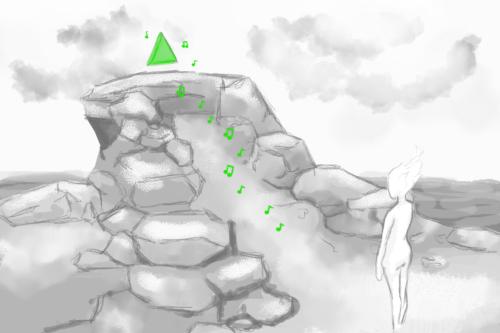 Mountain Location Concept